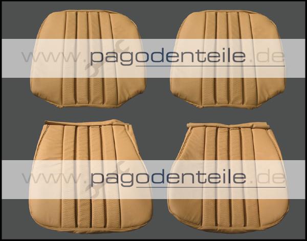 original leder innenausstattung sitzbez ge mercedes 230 sl. Black Bedroom Furniture Sets. Home Design Ideas